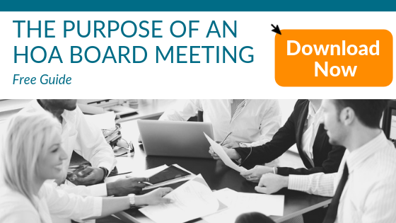 Free Guide what is the Purpose of HOA Board Meetings