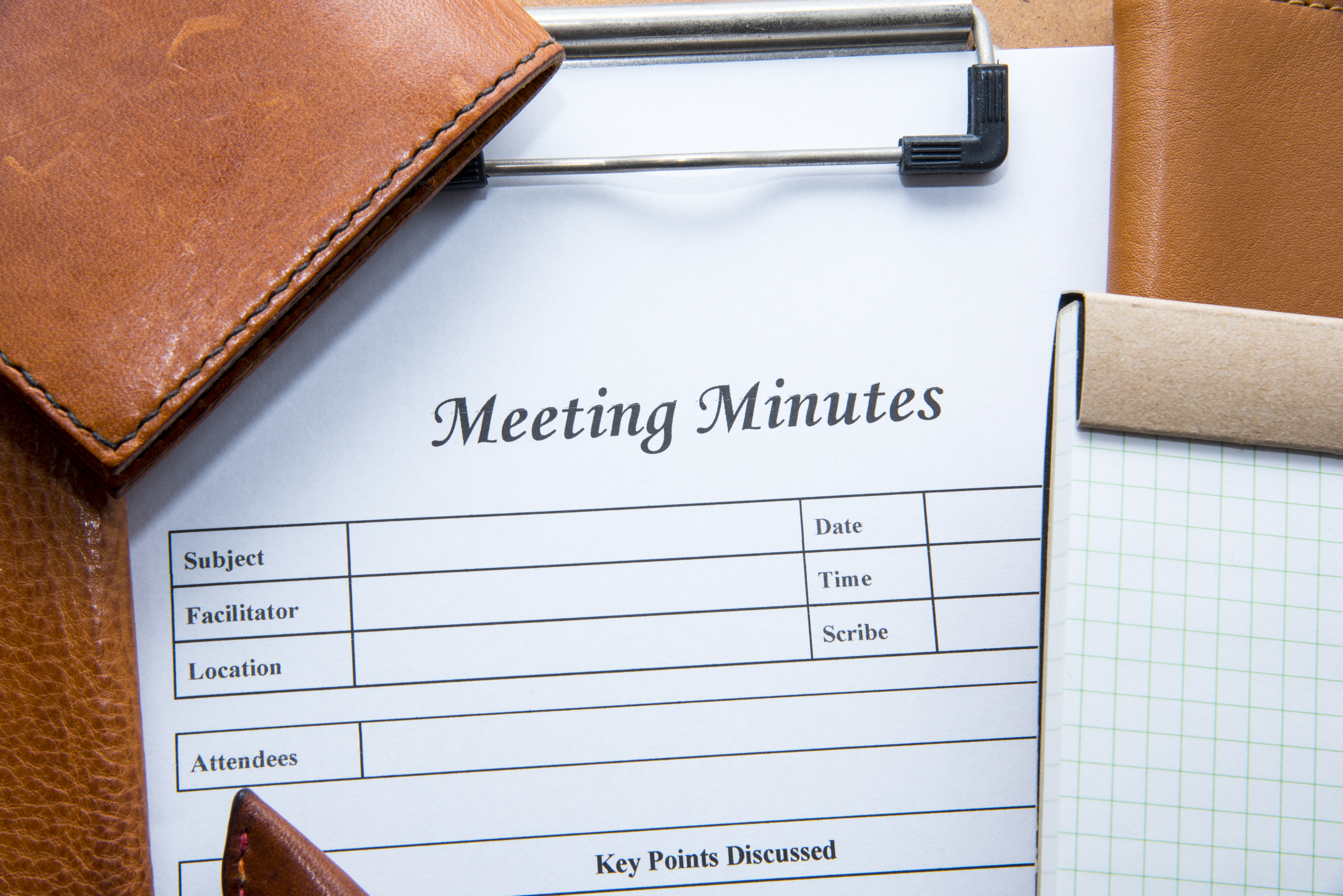 HOA Meeting Minutes: The Dos and Don'ts that Every Board Secretary Needs to Know