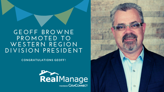 Geoff Browne Promoted to Western Region Division President