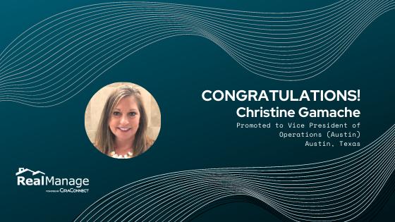 Christine Gamache- Vice President of Operations(Austin)