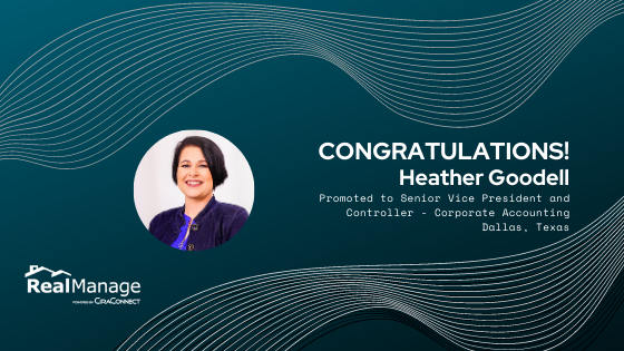 Heather Goodell - Senior Vice President and Controller - Corporate Accounting