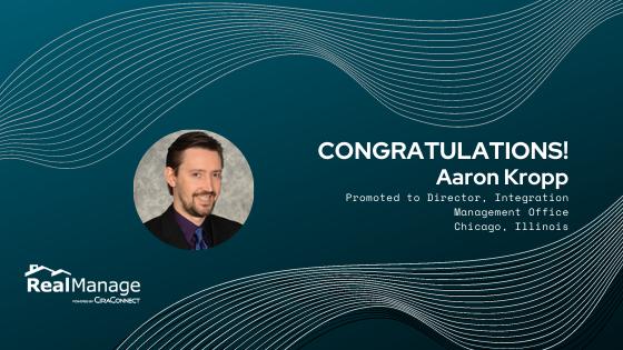 Aaron Kropp - Director, Integration Management Office