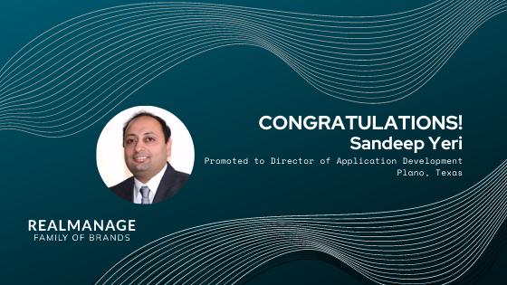 Sandeep Yeri - Director of Application Development